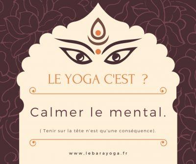C'est quoi le yoga?